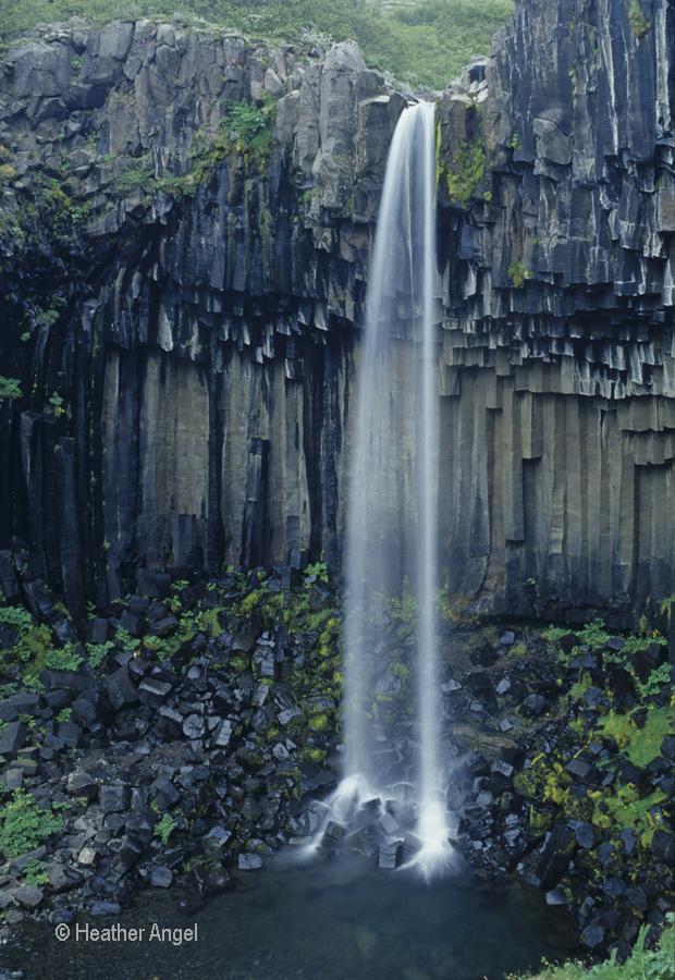Svartifoss waterfall Iceland